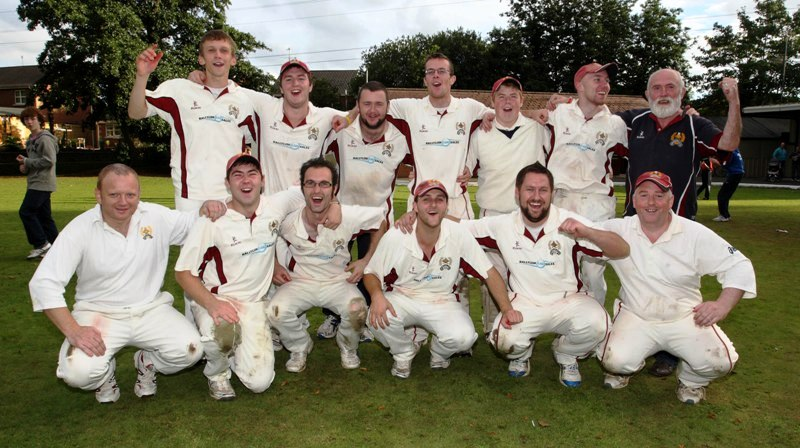 Laurelvale CC - Joint Winners of Ulster Bank League Section 2 2011